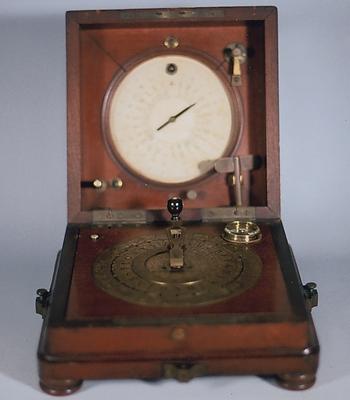 図2 携帯型ブレゲ指字電信機
