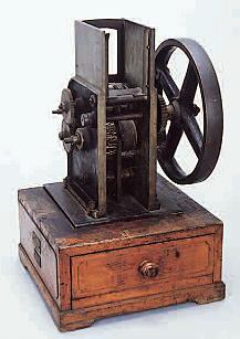 図2 林式自動押印機