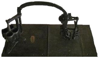 図1 ダガン式押印機