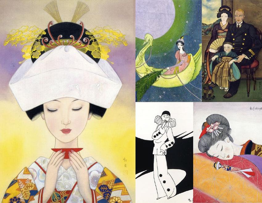 郵政博物館開館記念特別展 - 少女たちの憧れ - 蕗谷虹児 展